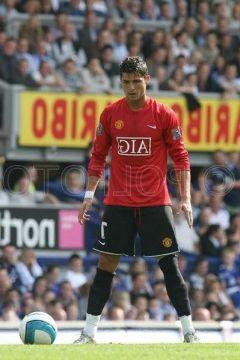 Роналдо готовится к удару