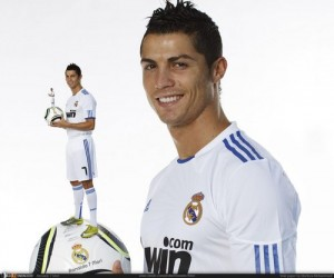 C Ronaldo в реале финты