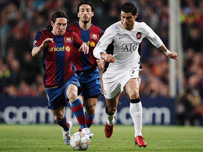 Messi притив ronaldo, кто техничнее