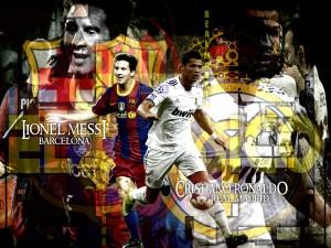 Lionel Messi Cristiano Ronaldo 2012