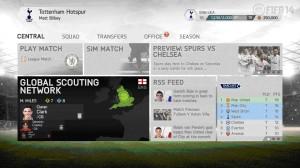 обзор главного меню FIFA 14
