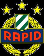 эмблема футбольного клуба «Рапид»