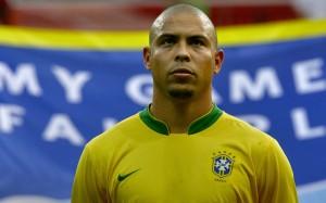 Роналдо Зубастик за сборную Бразилии